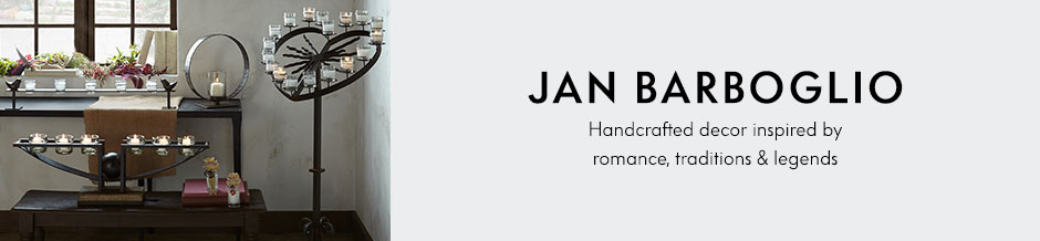 Jan Barboglio Handcrafted decor inspired by romance, traditions & legends