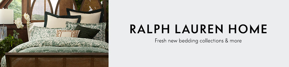 Ralph Lauren Home Fresh new bedding collections & more