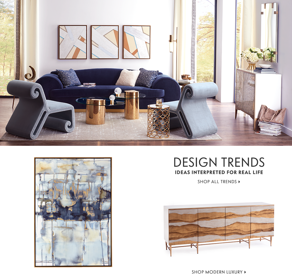 Designer Furniture and Home Dècor at Horchow