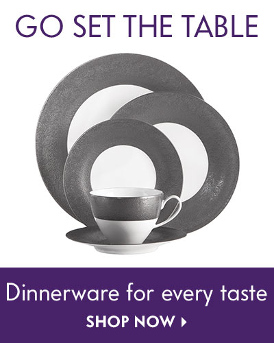 Go set the table - Dinnerware for every taste