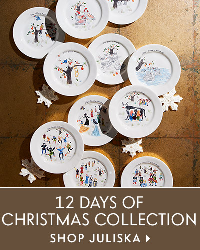 Juliska 12 Days of Christmas Promotiles