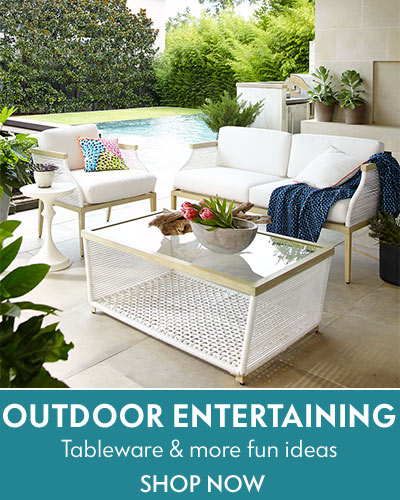 Outdoor Entertaining Furniture, garden decor & more: Shop now