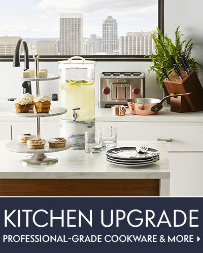 Kitchen Upgrade Professional-grade cookware & more: Shop now