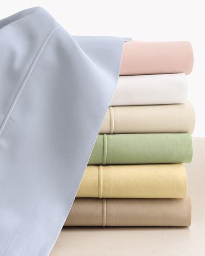 King Italian 500TC Percale Fitted Sheet