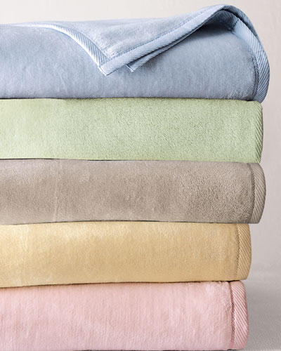Twin Plushed Combed Cotton Blanket