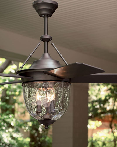 Aged Bronze Outdoor Ceiling Fan
