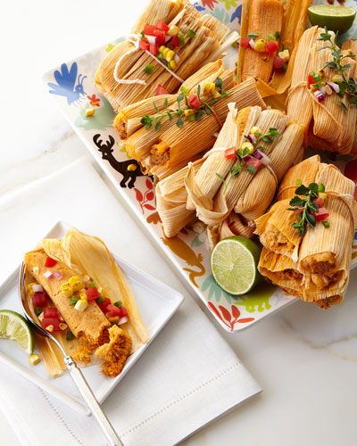 72 Handmade Tamales, For 18-24 people