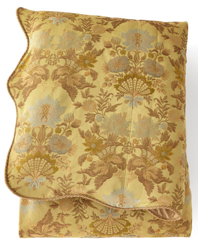 Queen Petit Trianon Floral Duvet Cover