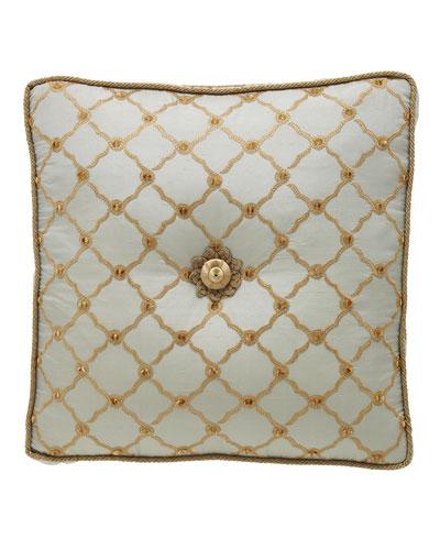 Petit Trianon Tufted Pillow, 18