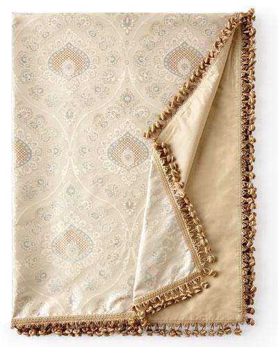 Crystal Palace Silk Throw