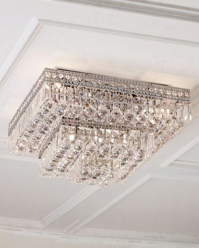 Crystal Ceiling Light Fixture | horchow.com