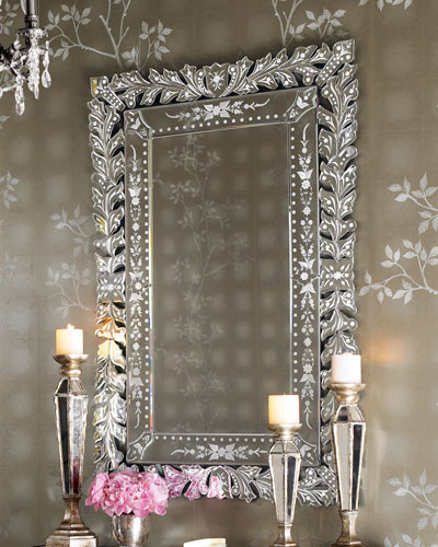 Framed Wall Mirror Horchow Com