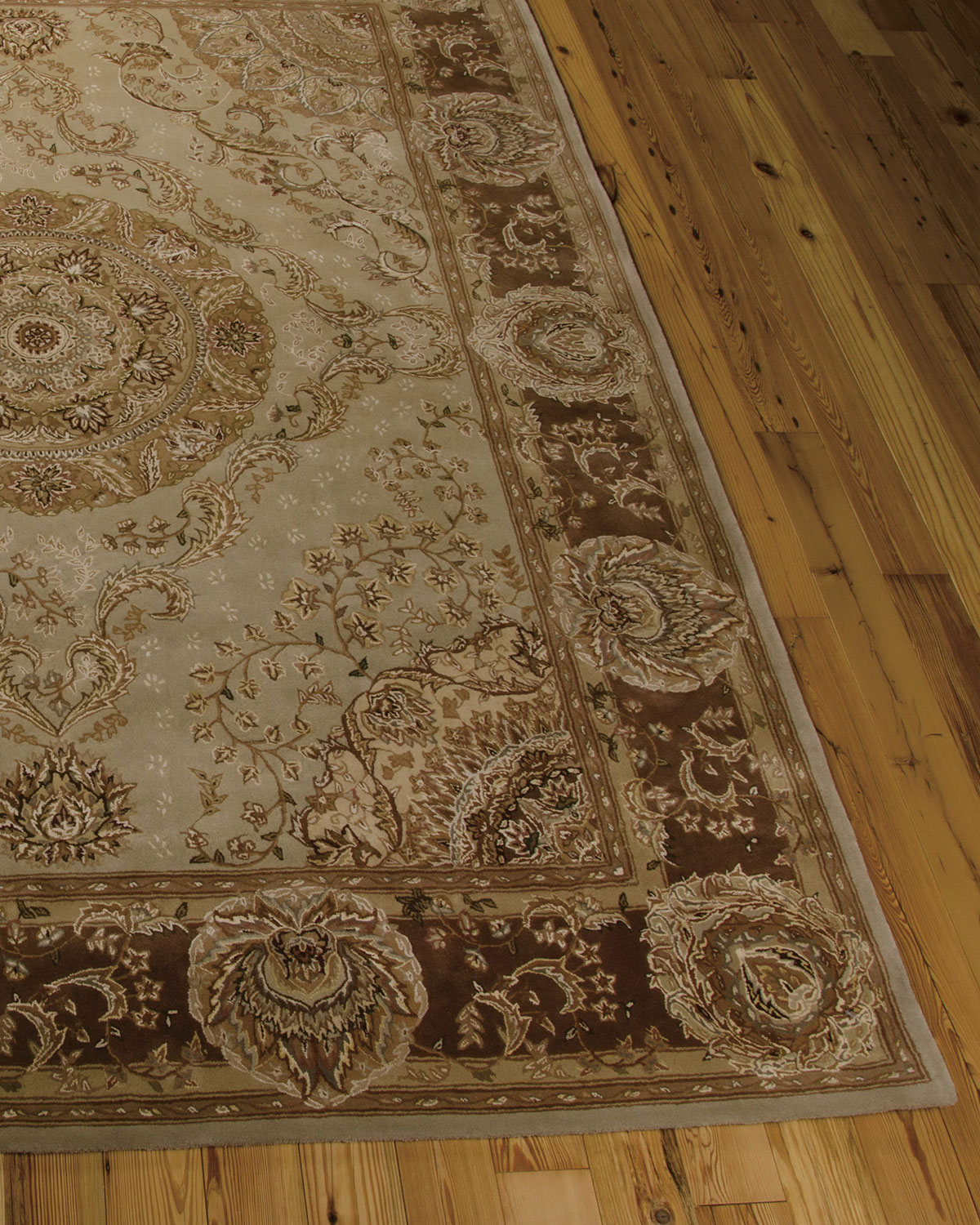 "Medallion Garden Rug, 7'9"" x 9'9"" Product Image"