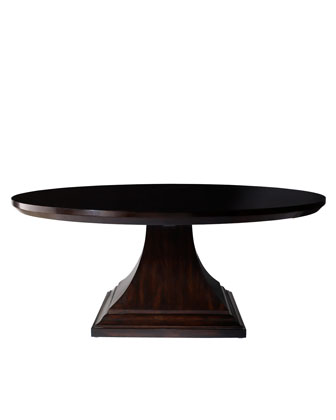 Lassater Double-Pedestal Dining Table - Horchow