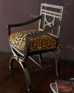 "John-Richard Collection ""Cheetah"" Roman Chair"