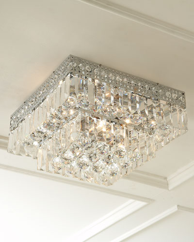 Quick look prodselect checkbox five light crystal flush mount ceiling fixture