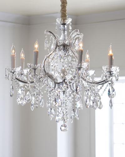 Crystal Drop 9-Light Chandelier