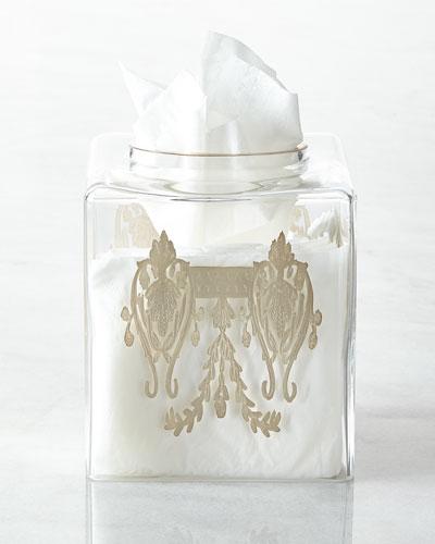 Louvre Tissue Box Cover
