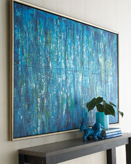 "John-Richard Collection ""Blue Jinlu"" Original Painting"
