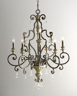"Nine-Light ""Treviso"" Chandelier"
