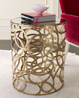 Scroll Side Table
