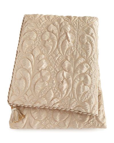 Neutral Modern Queen Damask Duvet Cover