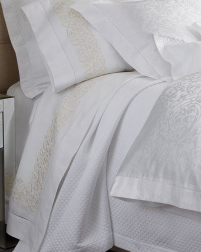 Two Finley Embroidered King 300TC Pillowcases