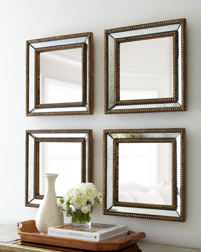 Two Norlina Square Wall Mirrors