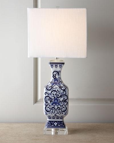 Toile Scenes Lamp