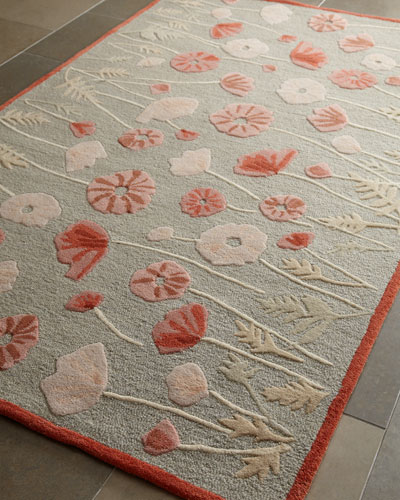 Poppy Glossary Rug, 8' x 10'