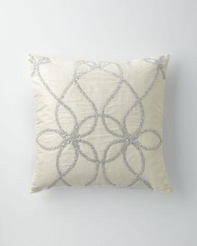 Greatest Silk Decorative Pillow | horchow.com YI61