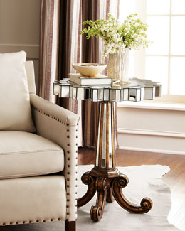 Coronado Fluted Side Table