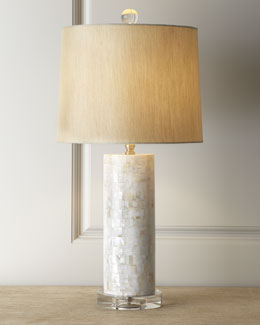 Mother-of-Pearl Lamp