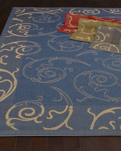Giddings Scroll Rug, 4' x 5'7