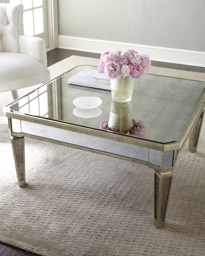 Antiqued Coffee Table Horchow Com
