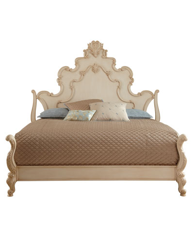 Nicolette Cream Queen Bed