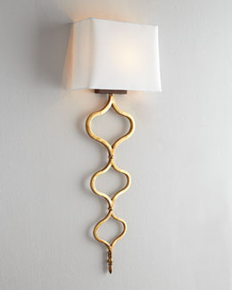 Sinuous Metal Sconce