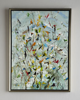 "John-Richard Collection ""The Confetti Garden"" Original Oil Painting"
