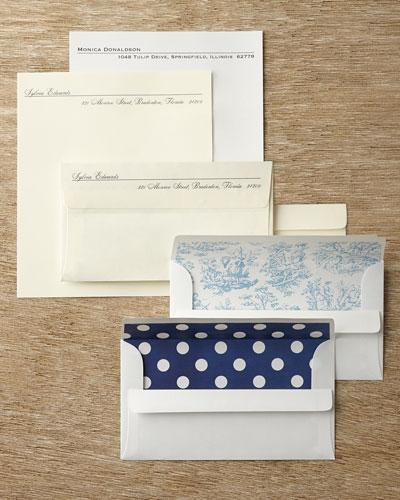 50 Printed Sheets & 50 Self-Seal Envelopes