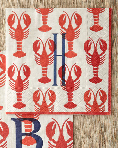 Lobster Cocktail Napkins