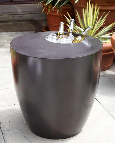 Beverage Cooler Side Table