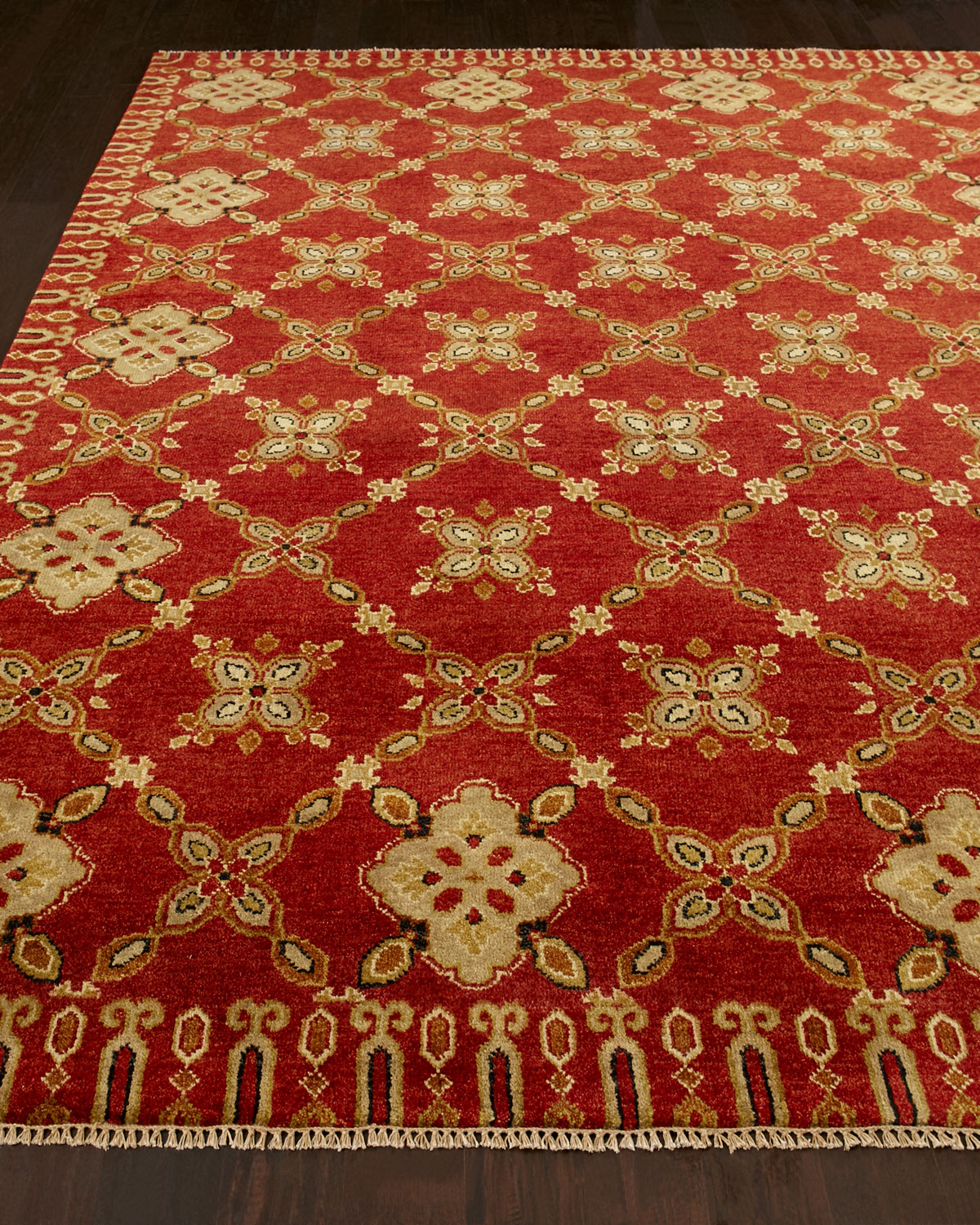 Augustus Hand Knotted Rug, 3' x 5' Product Image