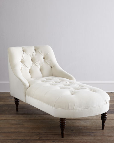 Aries Swoop-Arm Chaise