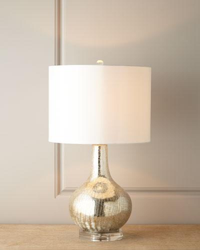 Genie Bottle Mercury-Glass Lamp