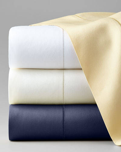 Queen Classic Sateen 590TC Fitted Sheet