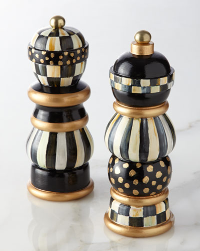Courtly Check Salt & Pepper Mill Set