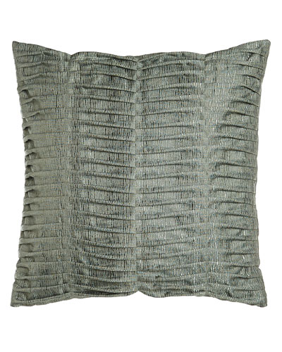 Glamour Pillow with Pleats, 22