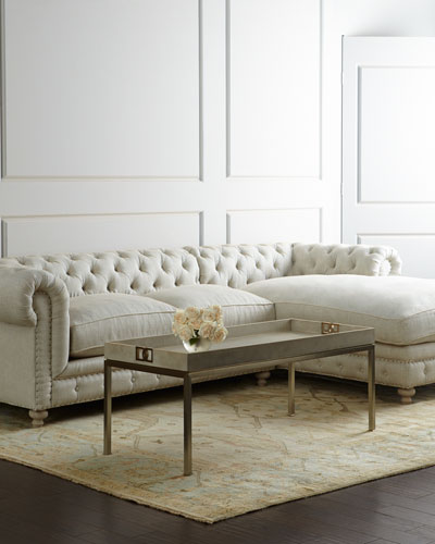 Linen Living Room Furniture Horchow Com