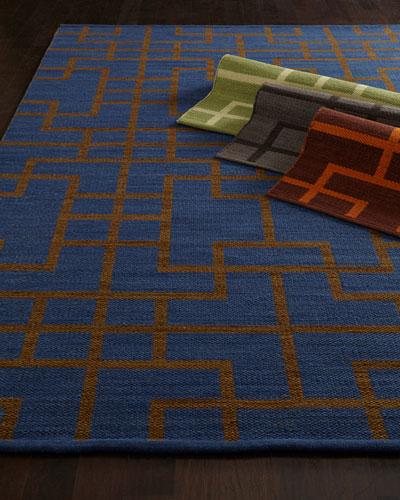 Interlock Maze Rug, 3'6