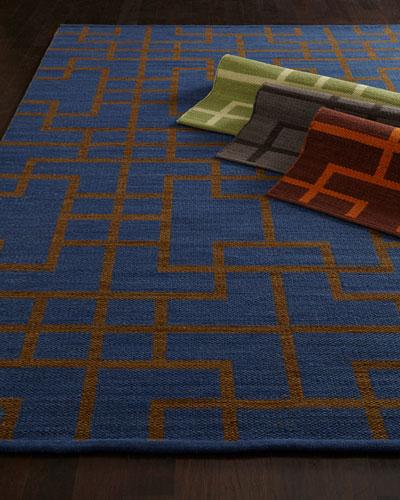 Interlock Maze Rug, 5'3